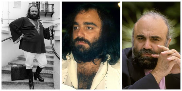Demis Roussos Kefi (Greek enthusiasm) in a Kaftan