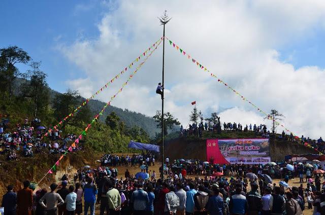 2.  Lễ hội Gầu Tào của người Mông Hà Giang