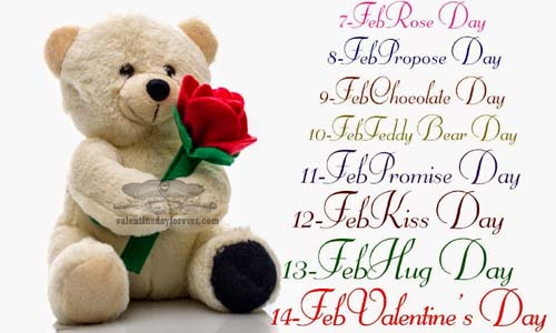 Valentine's Day 2017 week list Image