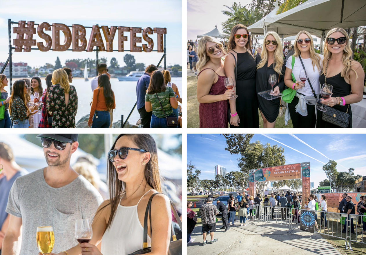 Enter to win 2 tickets to the San Diego Bay Wine + Food Festival Grand Tasting!