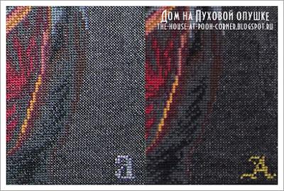 Вышивка крестом Чарiвна Мить Дама с горностаем