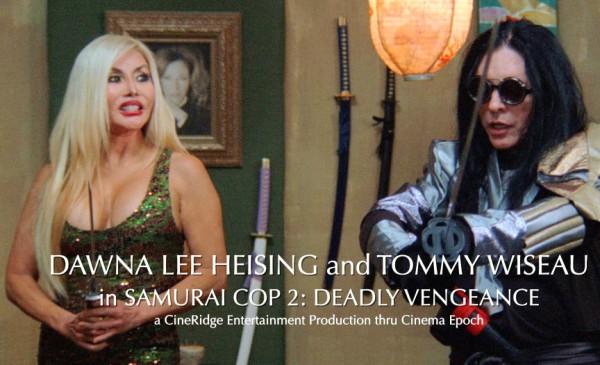 Dawna Lee Heising & Tommy Wiseau