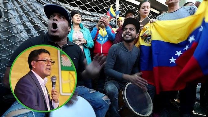 Venezolanos presentan acción de amparo contra alcalde de Huancayo