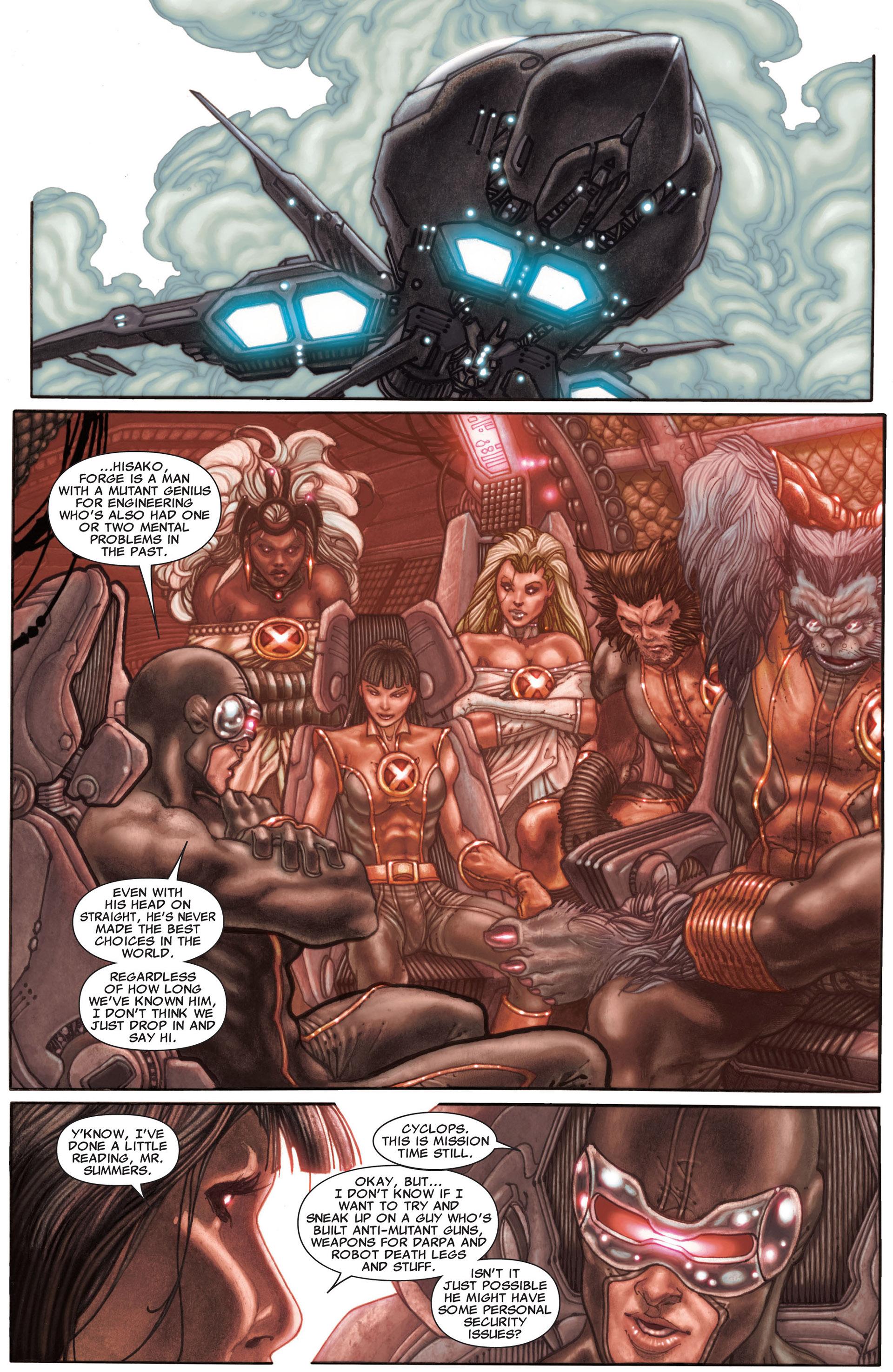 Read online Astonishing X-Men (2004) comic -  Issue #29 - 16