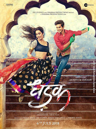 Dhadak (2018) Movie Poster