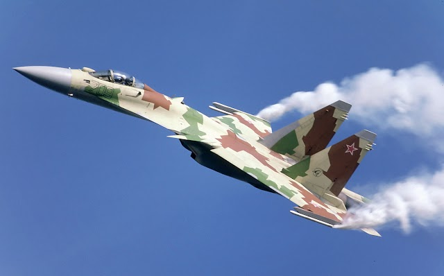 Sukhoi Su-35 Multi-Role Fighter Aircraft : Go Defence News
