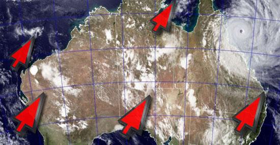 A Austrália está andando - posição do país deve ser corrigida nos mapas - Capa