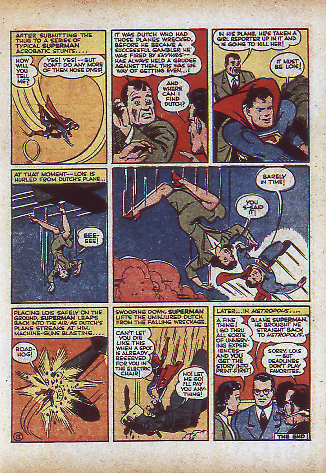 Read online Action Comics (1938) comic -  Issue #43 - 15