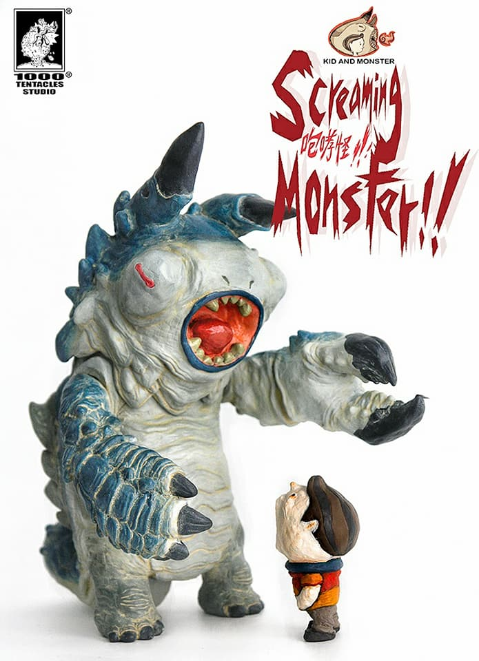 247c810df0cb5 1000 Tentacles' <Screaming Monster> World Wide Pre-Orders start NOW!