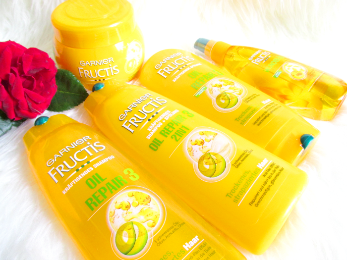 Garnier Fructis Oil Repair 3 Serie - Review, Erfahrungen