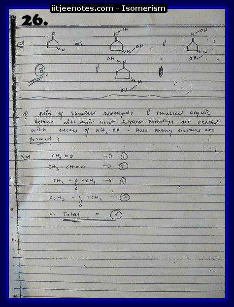 Isomerism Notes10