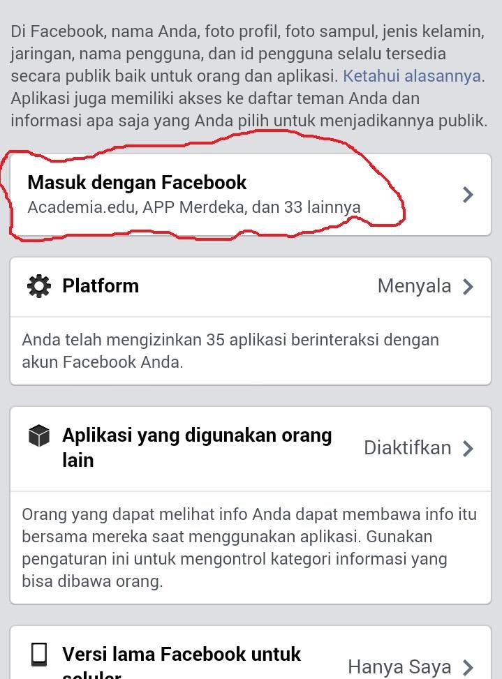 Step 3 Cara menghapus spam Facebook siapalihat.com