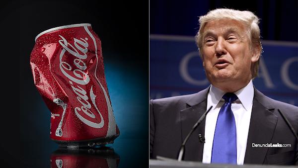 Donald Trump explota, ORDENA A COCA-COLA abandonar producción en México.