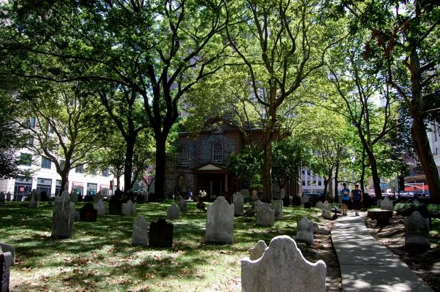 Часовня Святого Петра, Нью Йорк Сити (St Paul's Chapel, New York, NY)