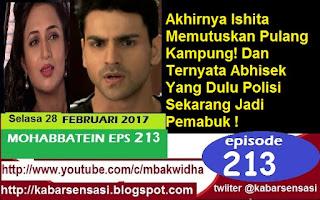 http://kabarsensasi.blogspot.com/2017/02/mohabbatein-antv-episode-213-selasa-27.html