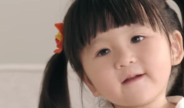 anak kecil moonella iklan shopee
