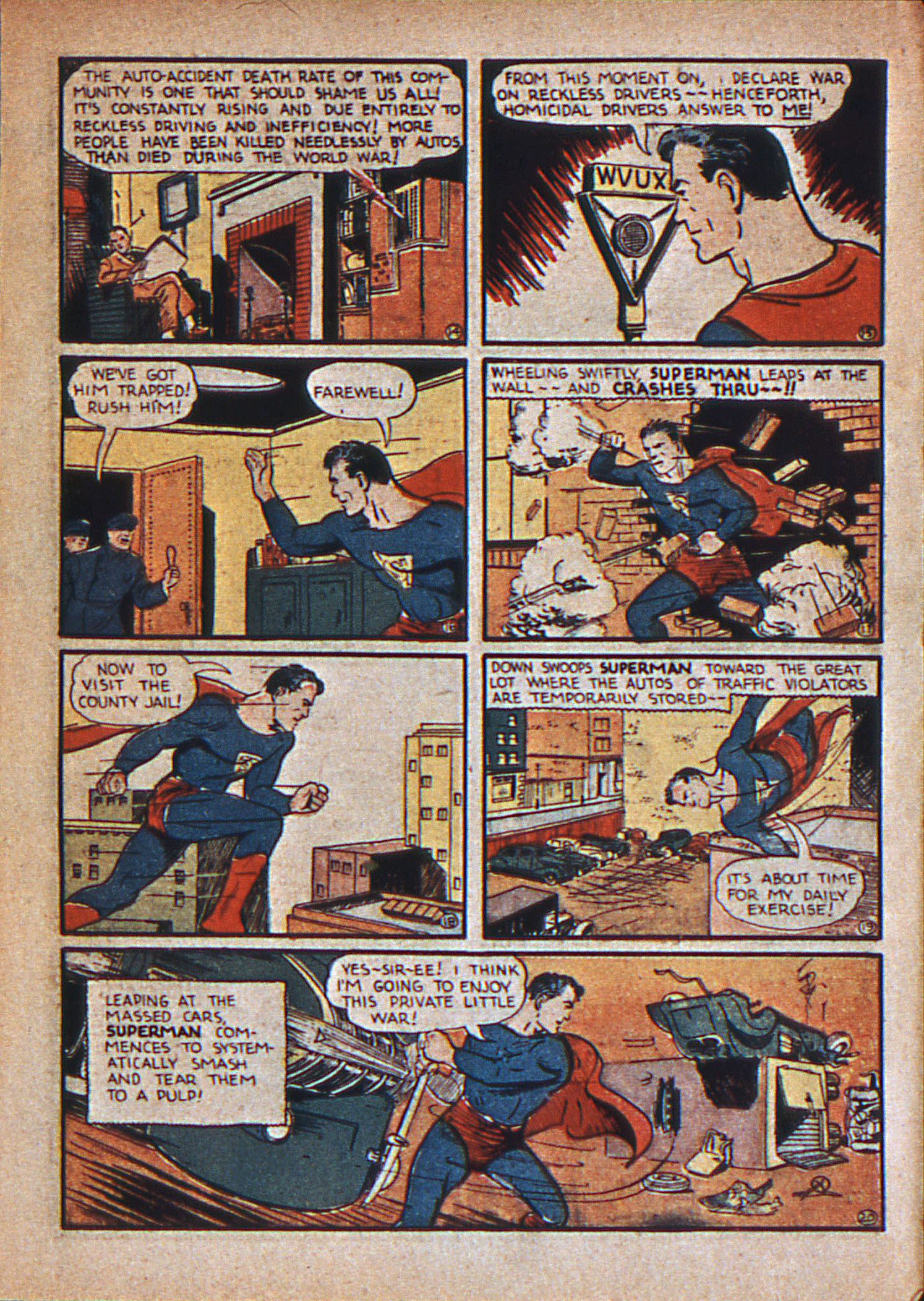 Read online Action Comics (1938) comic -  Issue #12 - 6
