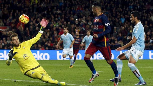 """El entorno del Celta, cabreado por la """"lambretta"""" de Neymar"""