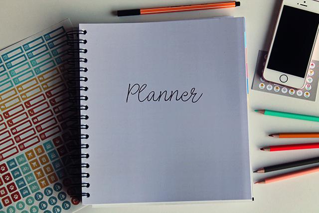 huishoudplanner firma huishouden