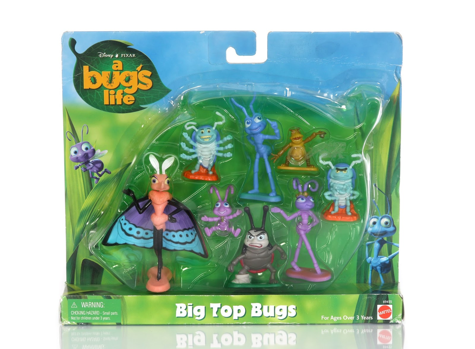 a bug's life gypsy big top bugs figures