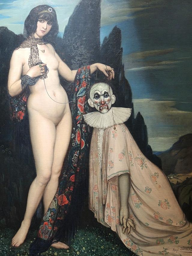Angel Zarraga - detail uit La femme et le pantin
