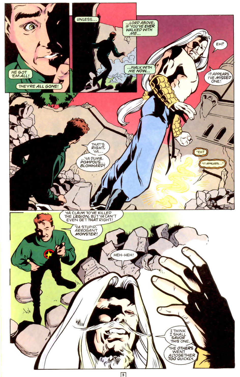 Legion of Super-Heroes (1989) 48 Page 3