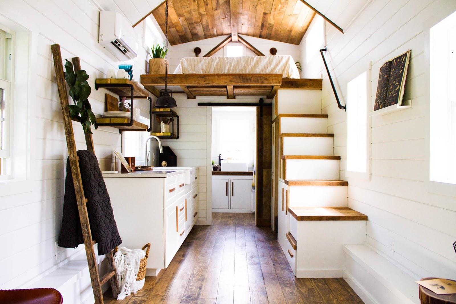TINY HOUSE TOWN Liberation Tiny Homes Farm House