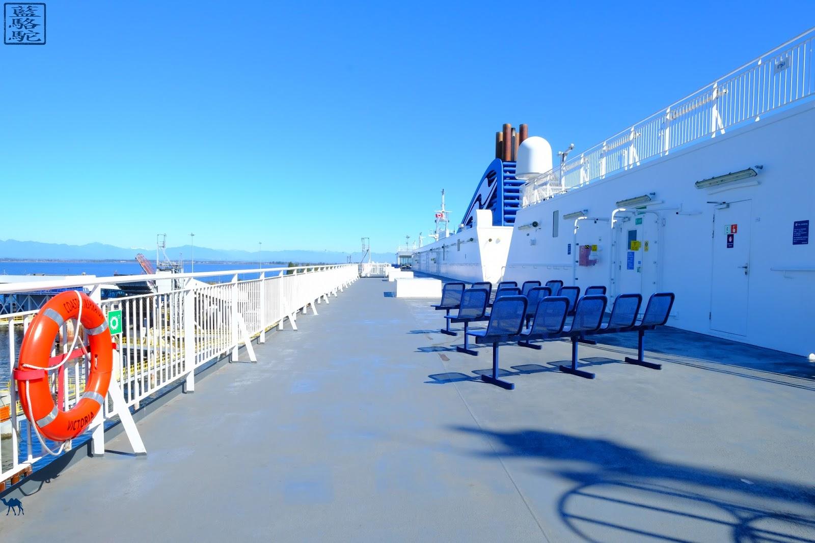 Le Chameau Bleu - Ferry BC pour l'ile de Victoria - Colombie Britannique - Canada