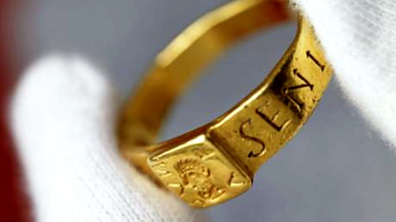 Ring that may have inspired Tolkien goes on show