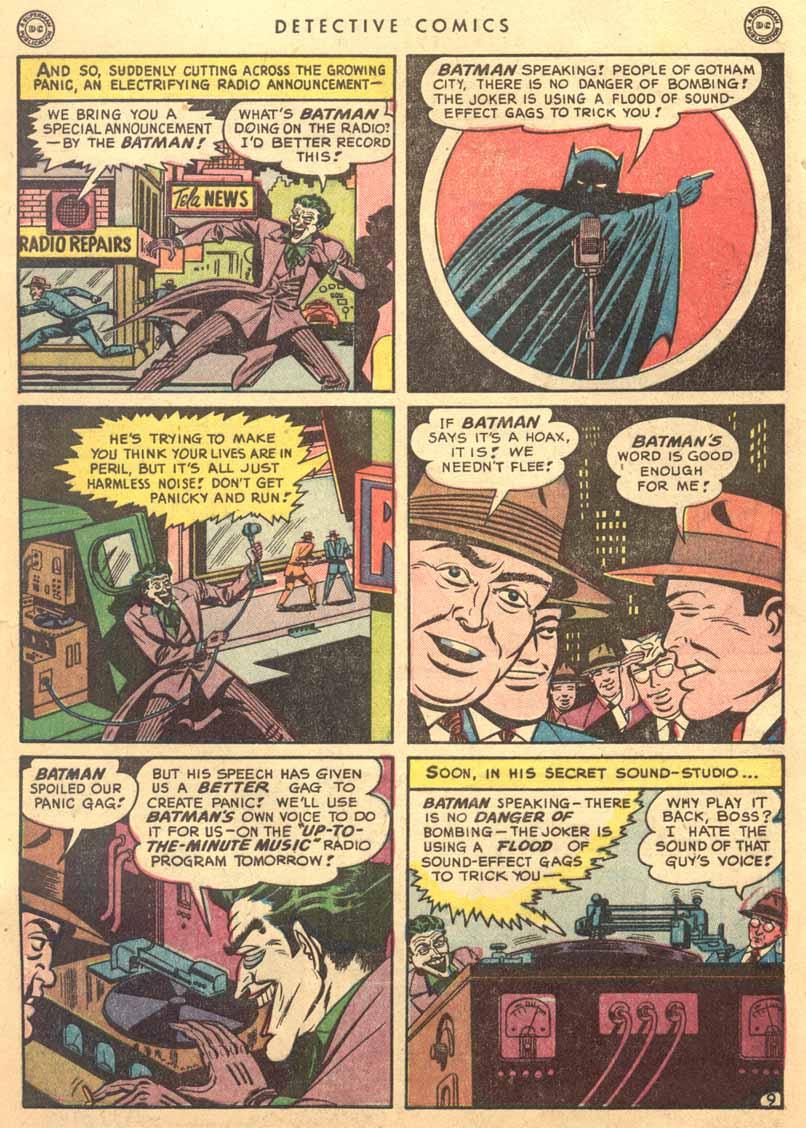 Read online Detective Comics (1937) comic -  Issue #149 - 11