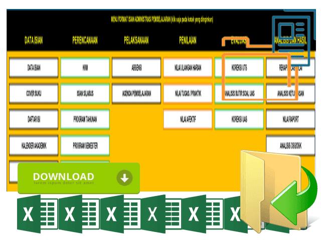 Download Aplikasi Kumpulan Berkas Administrasi Guru Lengkap