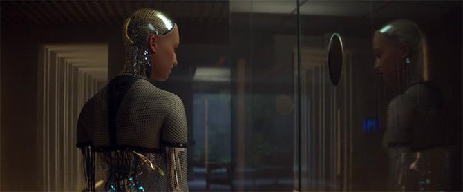 robot tampil di netflix ex machina