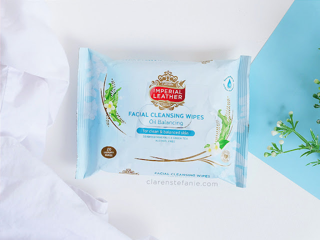 Cussons Imperial Leather Facial Cleansing Wipes Oil Balancing