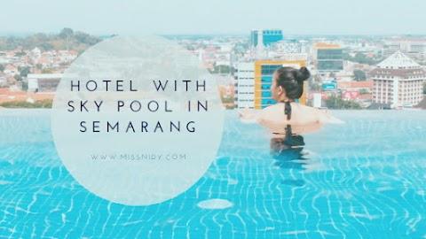 Apartment Airbnb dengan Infinity Pool di Semarang