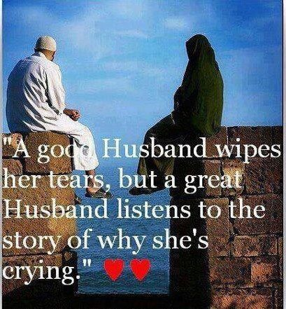 husband and wife relationship in islam quotes about death