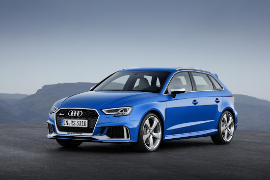 Geneva is lucky enough to debut the new Audi RS3 Sportback quattro, Thee Storming car !