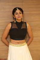 Roshni Prakash in a Sleeveless Crop Top and Long Cream Ethnic Skirt 076.JPG