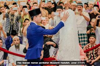 Muzammil Hasballah menikah di bulan syawal