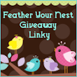Mom's Best Nest: Feather Your Nest Giveaway Linky