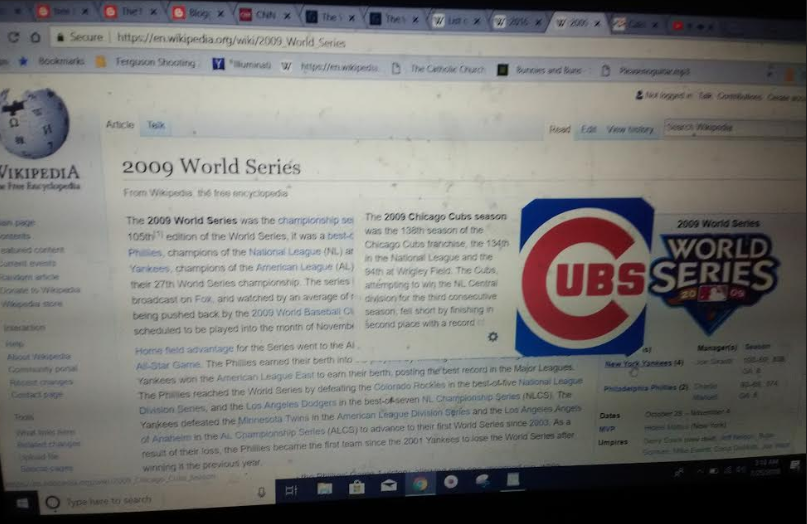 062d2a34d I was looking more into Ferris Bueller and I saw that the creator John  Hughes died in 2009. I looked up the 2009 World Series and I noticed the  Yankees won ...