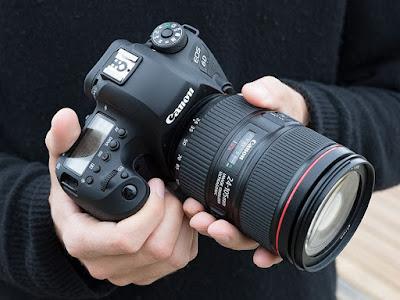 Các dòng máy Full Frame của Canon