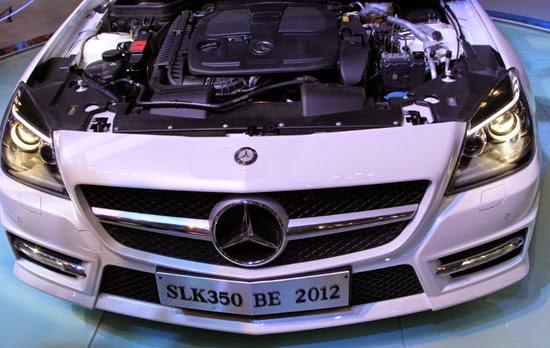 Mercedes SLK 350 AMG màu trắng 05