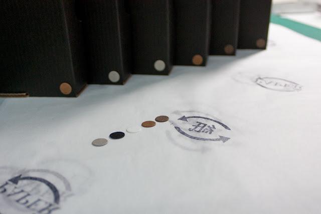 紙樣 手工品牌創作過程- 包裝