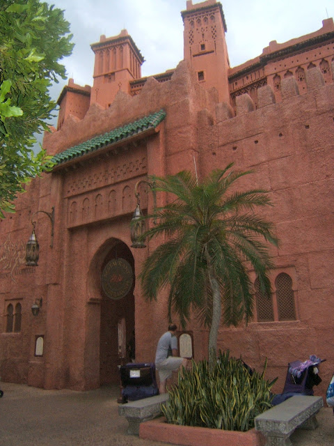 Restaurant Marrakesh in Morocco at Epcot