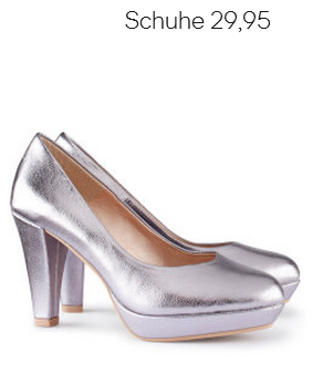 Silver Platform Pumps H&M Fall 2012 Collection