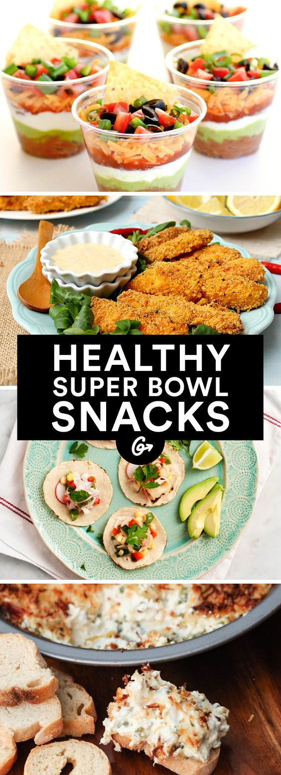 Healthy super bowl recipes snacks