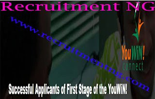 YouWiN Successful Applicants 2017|First Stage Training| YouWiN! Connect 2017 Training