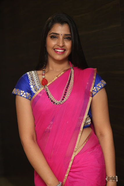 Shyamala TV Anchoer in Saree and Blouse Spicy