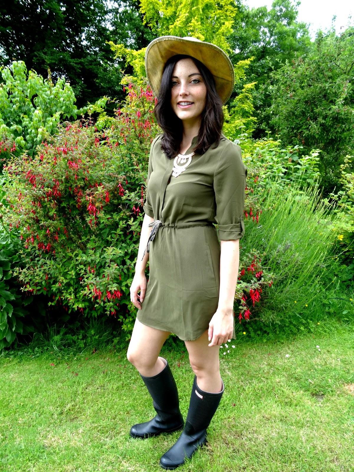 Glastonbury festival fashion post