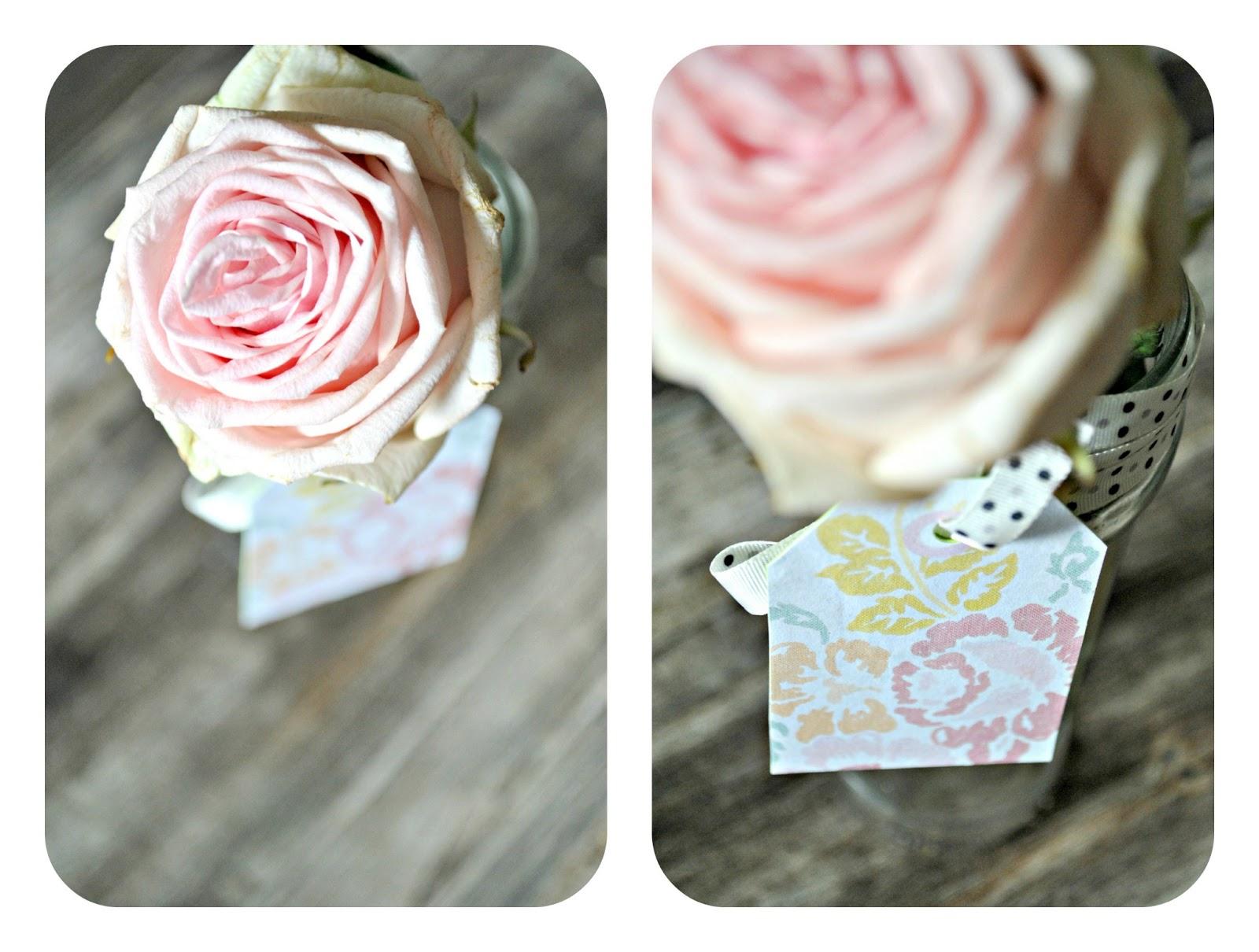 etykiety na kwiaty